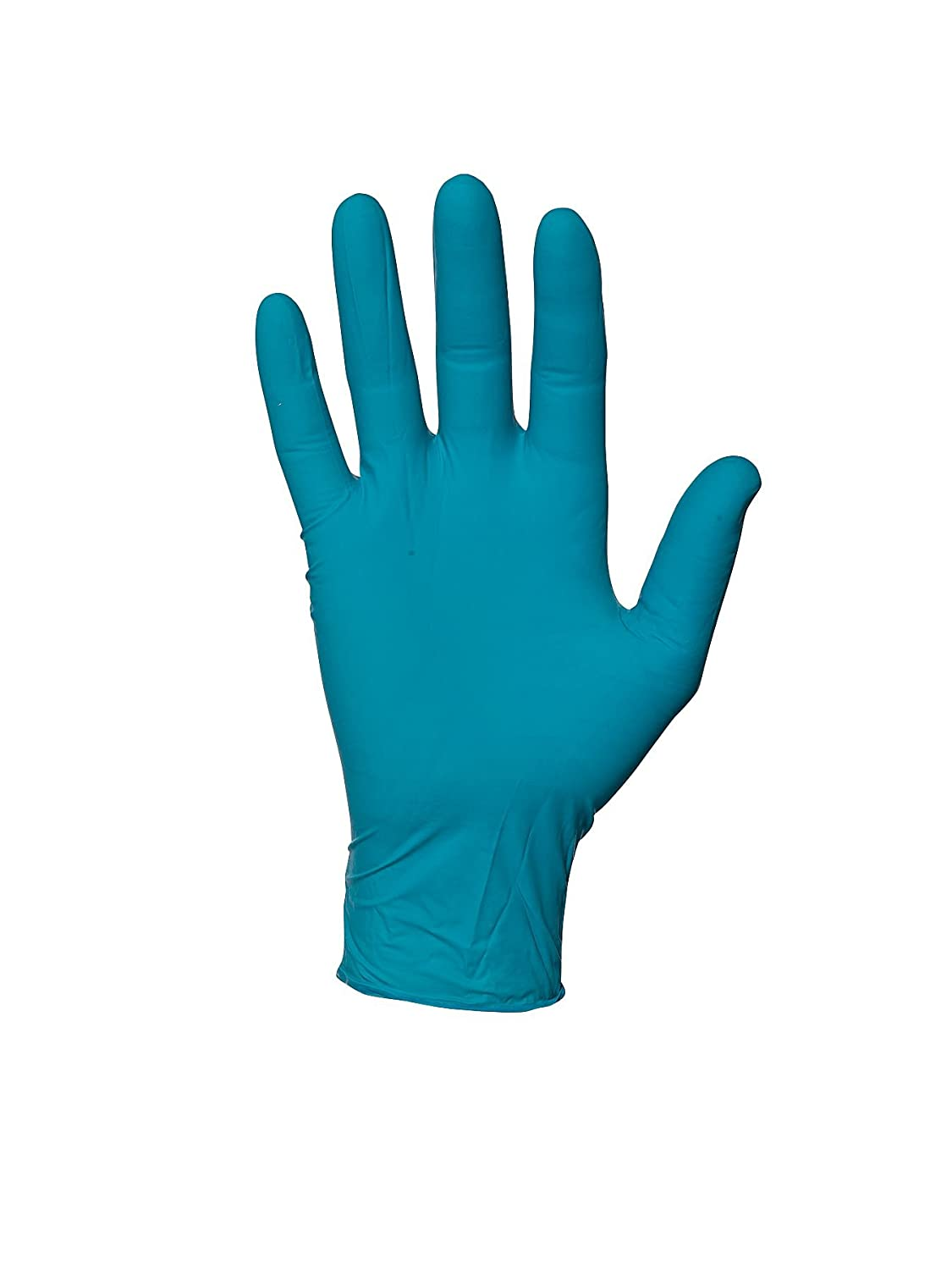 92-600 ANSELL SIZE 7.5/8 TOUCHNTUFF CHEMICAL SPLASH RESISTANT AMBIDEXTROUS DISPOSABLE NITRILE POWDER FREE SMOOTH FINGERTIP GLOVES GREEN 240MM PACK OF 100 - CAT III - EN374 - EN421