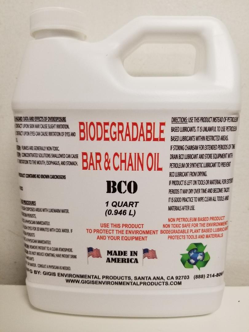 Gigis Environmental Products Biodegradable Bar and Chain Oil by Gigis Environmental Products