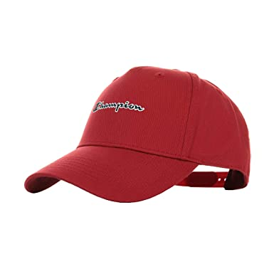 Champion Baseball Cap Red, Gorra: Amazon.es: Ropa y accesorios
