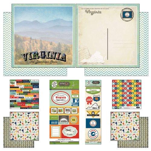 Usa Scrapbook Kit - 4