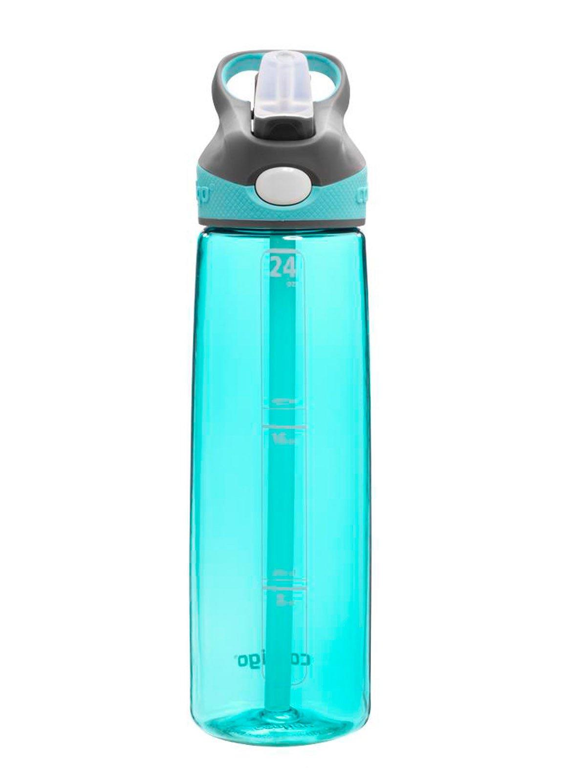 Contigo AUTOSPOUT Straw Addison Water Bottle, 24 oz, Ocean