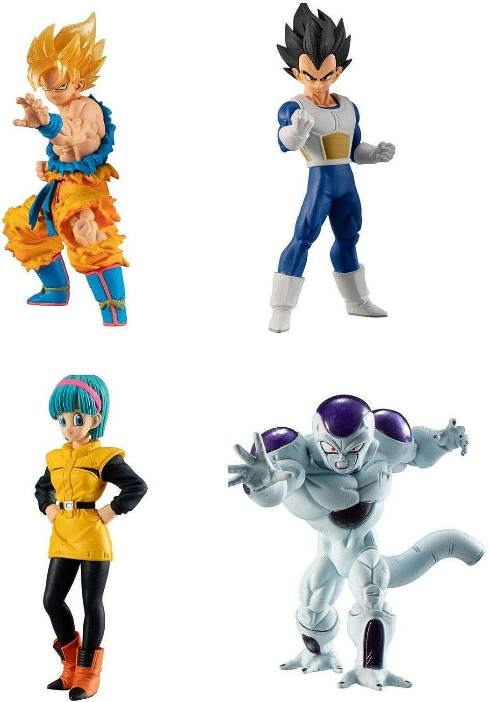 Dragonball Super Set Complet 4 Figures 9cm Collection Freezer Arc ...