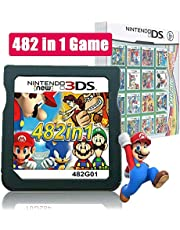 $30 » 482 in 1 Game Cartridge, DS Game Pack Card Compilations, Super Combo Multicart for Nintendo DS, NDSL, NDSi, NDSi LL/XL, 3DS, 3DSLL/XL, New 3DS, New 3DS LL/XL, 2DS, New 2DS LL/XL