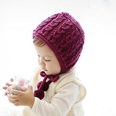 Für 0 12 Monaten Baby Amlaiworld Strick Haken Beanie Winter Warm