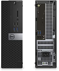 Dell OptiPlex 3050 Small Form Factor PC, Intel Quad Core i7-7500 up to 3.8GHz, 16G DDR4, 512G SSD, Windows 10 Pro 64 Bit-Multi-Language Supports English/Spanish/French(Renewed)