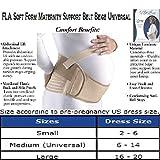 Soft Form Maternity Support Belt, Medium/Universal Beige