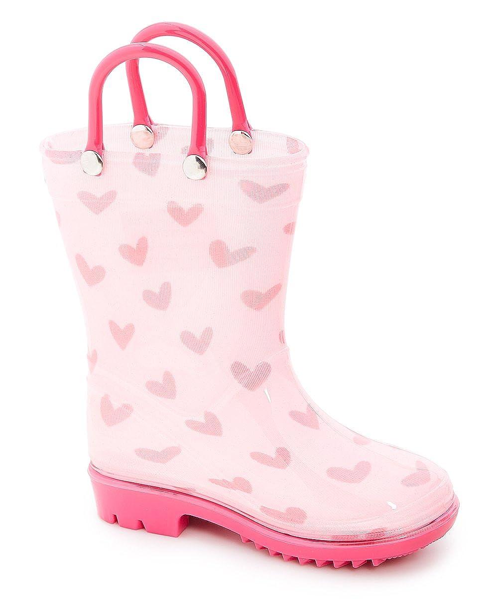 Storm Kidz Kids Girls Printed Rainboots Assorted Animal Prints Toddler//Little Kid//Big Kid Sizes STK8000