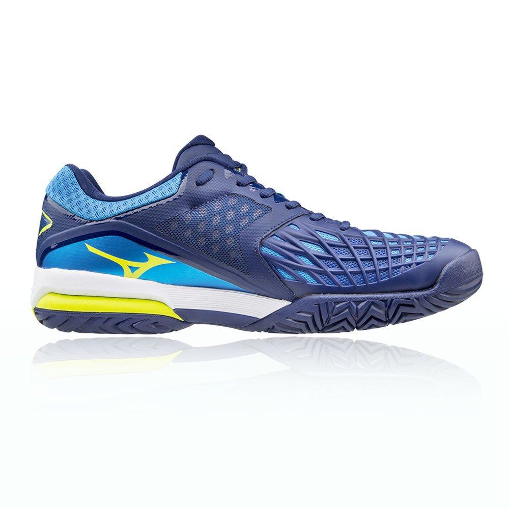 Mizuno Wave Intense Tour 3 All Court Tennisschuh - AW17  42 EU|Blue