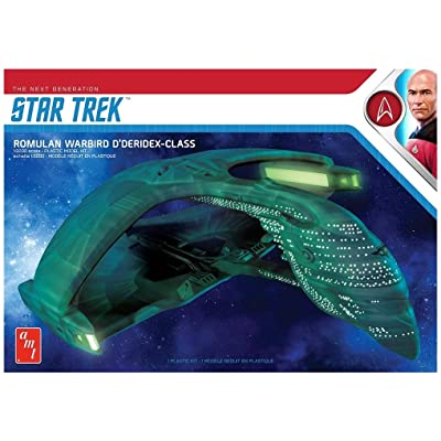 AMT 1/3200 Star Trek Romulan War Bird 2T, AMT1125M: Toys & Games