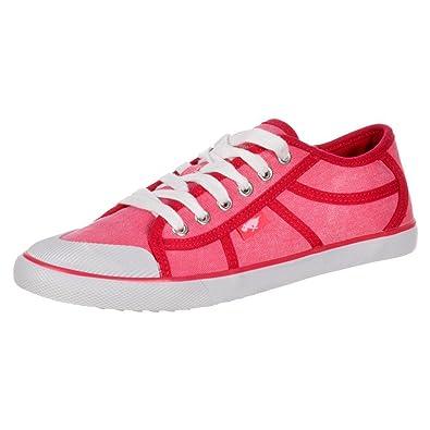 Rocket Dog Womens Amaya Sidewalk Canvass Flat Lace Up Deck Shoes Trainers Pink UK3 EU36