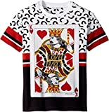 Dolce & Gabbana Kids Boy's King of Hearts T-Shirt (Big Kids) White 10