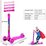 OUTON Kick Scooter for Kids 3 Wheel Lean to Steer