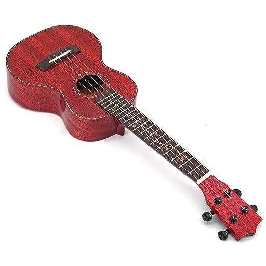 Sanqing Ukulele de 23 Pulgadas, Guitarra pequeña de Colores ...
