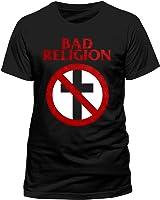 BAD RELIGION Crossbuster Unisex T-Shirt Offizielles Lizenzprodukt