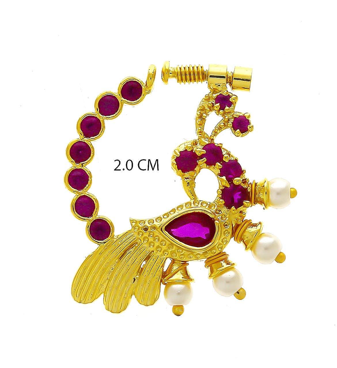 Buy Anuradha Art Jewellery Pink Finish Studded Stone Fancy Dulhan
