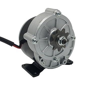 Motor de patinete DC 24 V 36 V motor cepillado 350 W alta 380 RPM ...