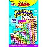 Trend Enterprises Superspots & Supershapes Variety Pack, Everyday Favorites (T-46916)