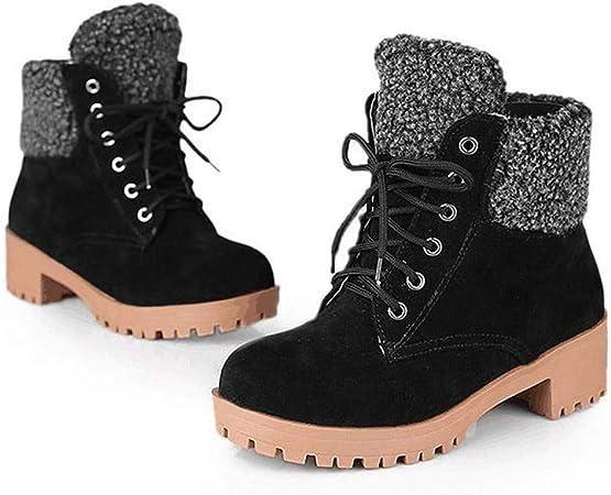 Chaussures Femme Bottines Bottes Courtes L'automne Hiver