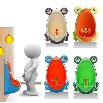 Frog Plastic Baby Children Boys Potty Kids  Toilet Training Urinal  Pee Bathroom