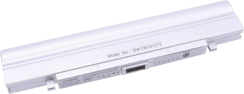 vhbw BATERÍA 11.1V 4400mAh en Color Plata en Color Plata para ...