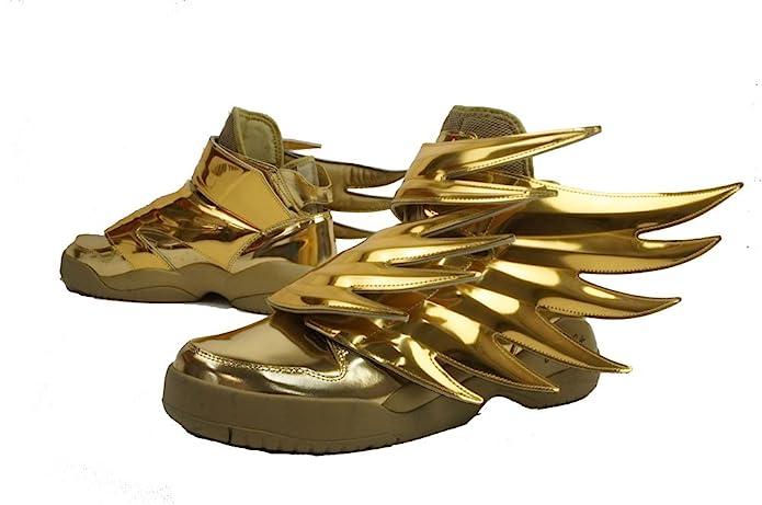 Buy Adidas Originals Men S Js Wings 3 0 Gold Gold Sneakers 9 Uk At Amazon In