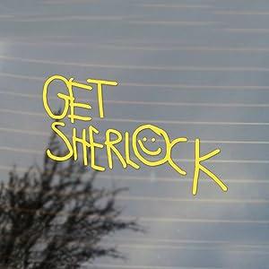 Cosplay & Fan Gear Get Sherlock Moriarty Vinyl Decal (Canary Yellow)