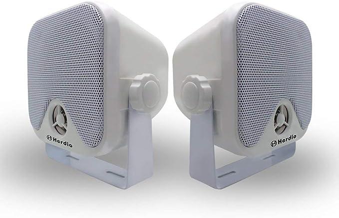 100 W 10 2 Cm Mini Marine Lautsprecher Wasserdicht Stereo Audio Lautsprecher System Für Atv Utv Motorrad Lautsprecher Traktor Boot Box Lautsprecher Elektronik