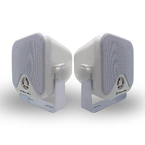 "100 W 4""Mini Caja de Altavoces Sistema de Altavoces para Moto ATV UTV Tractor"