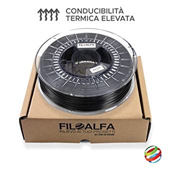 GRAFYLON® 3D, ø 1,75 mm, Negro, 1: Amazon.es: Industria, empresas ...