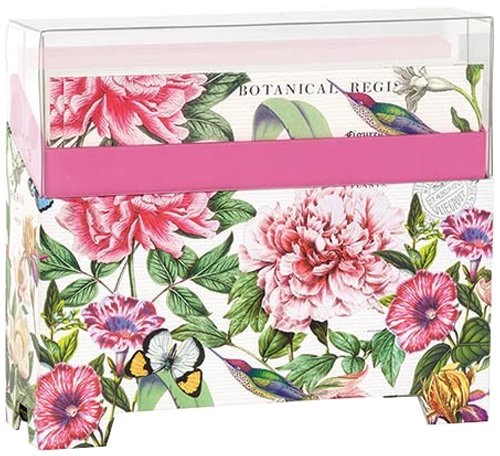 Michel Design Works 14 Count Boxed Notes, Peony by Michel Design Works