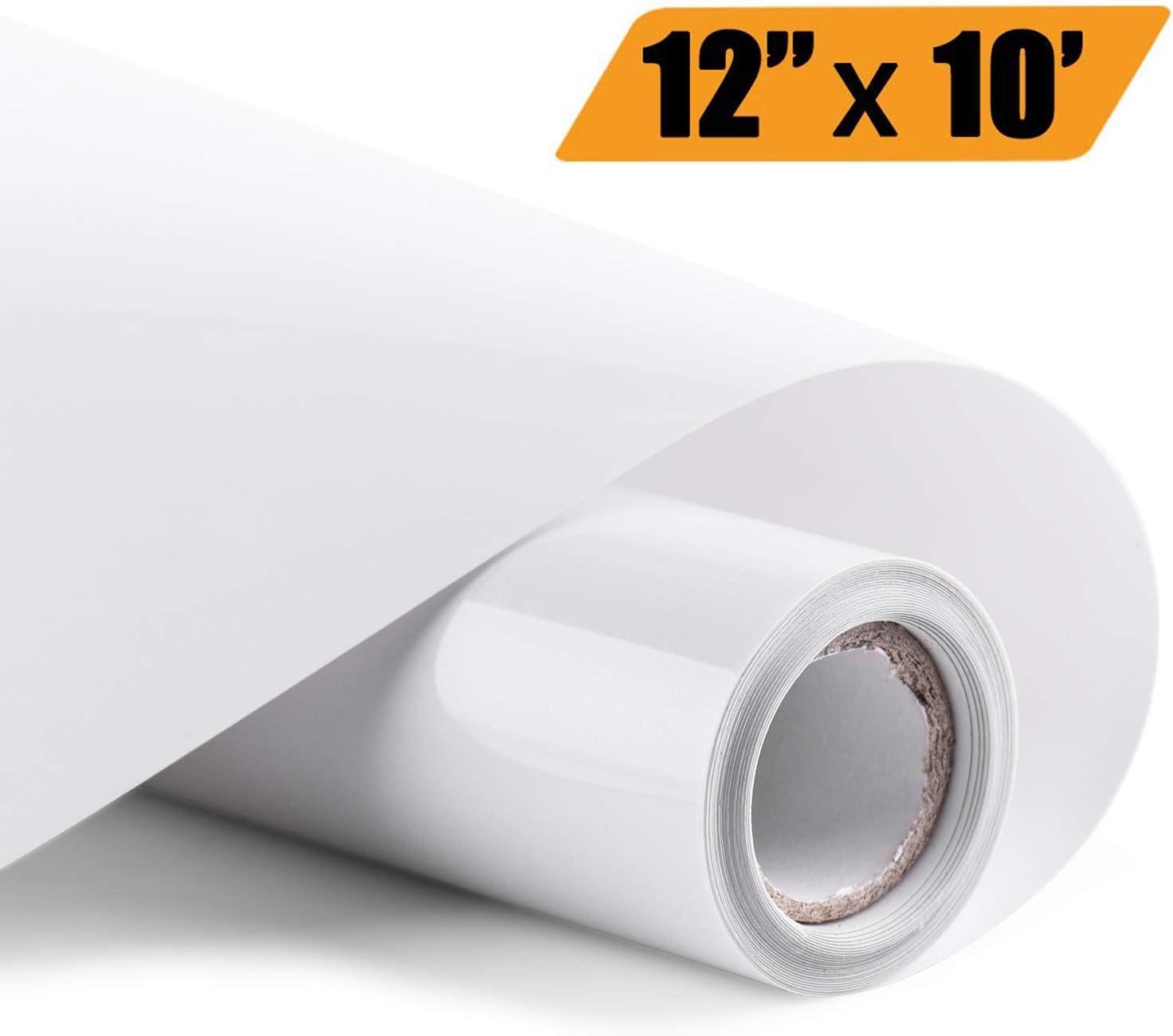 "Heat Vinyl Transfer Rolls HTV Iron on Bundle Lot 12/"" x 10ft for T-Shirt Cricut"
