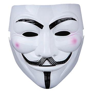 Guizen Máscara/ Careta de V para Vendetta Mask/Anonymous/Guy Fawkes mask-