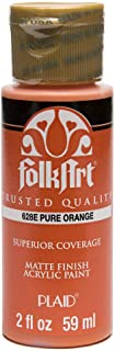 product image for FolkArt Acrylic Paint in Assorted Colors (2 oz), 628, Pure Orange
