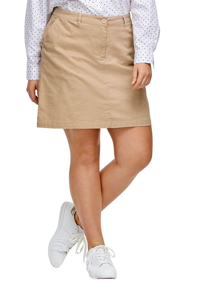Ellos Women's Plus Size Chino Skort