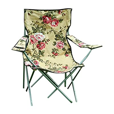 Victorian Trading Floral Chintz Camping Chair: Kitchen & Dining