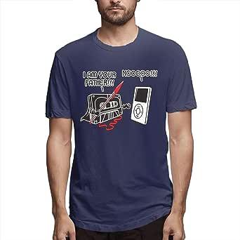 Hombres Imprimir cómodo Soy tu Padre Manga Corta Camisetas graciosas Negro: Amazon.es: Ropa y accesorios