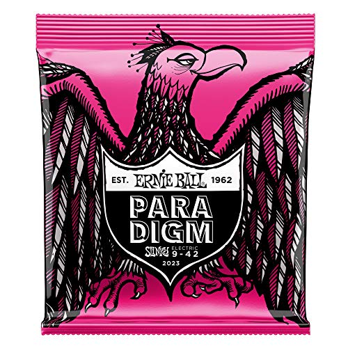 Ernie Ball Super Slinky Paradigm Electric Guitar Strings - 9-42 Gauge