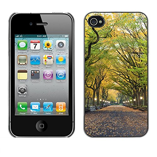 Premio Sottile Slim Cassa Custodia Case Cover Shell // V00002648 Parc central // Apple iPhone 4 4S 4G