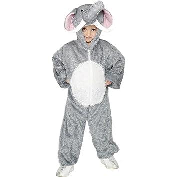 Net Toys Costume Déléphant Pour Enfant Gris Taille 5 8 Ans 128140