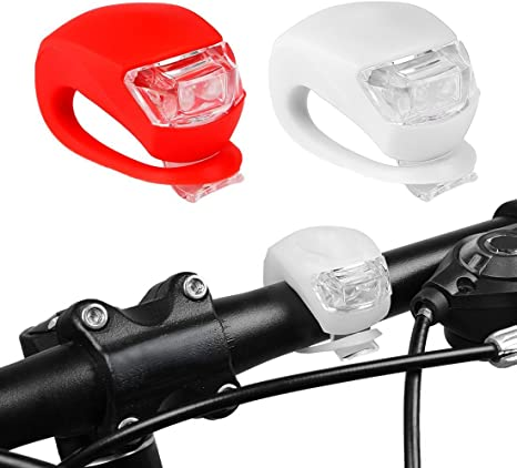 Led Light Set, Aufeel Juego de 2 luces Luz Blanca Delantera Roja ...