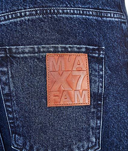 All Pantalón 7 Jsdcr990mtrinse Algodon Mankind Azul For Mujer Uzx7qz5R