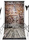 LB 10x20ft Brick Wall Poly Fabric Customized photography Backdrop Background studio props WF20