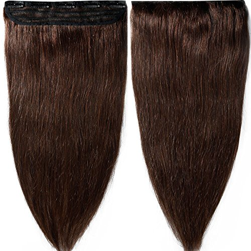 Deluxe 100% Clip in Remy Human Hair Extensions 3/4 Full Head