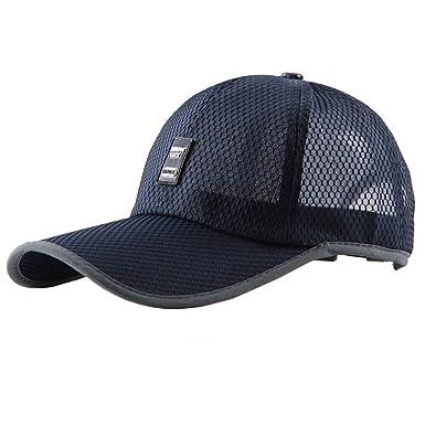 YONGKINY Gorra de Béisbol para Mujer Hombre Sombrero de Verano ...