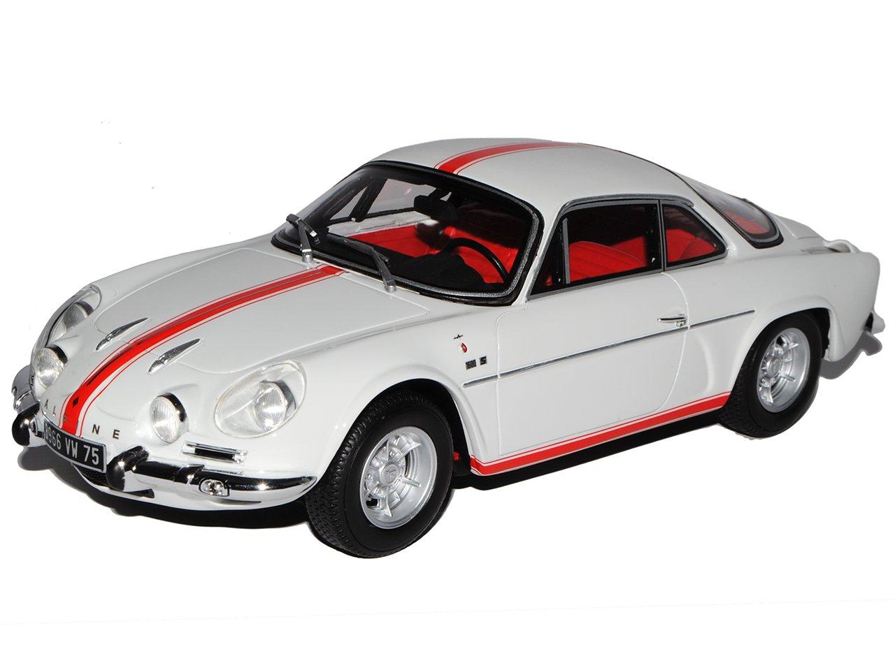Otto Alpine Renault A110 1600 S Olympique Weiss Rot 1968 Nr 138 1/18 Modell Auto mit individiuellem Wunschkennzeichen