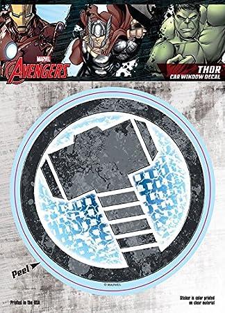 Marvel St Mavas Thorlogo Car Window Decal Avengers Thor Hammer Logo 6 X8