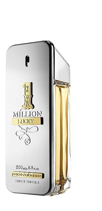Amazoncom Paco Rabanne One Million Lucky Eau De Toilette 200 Ml