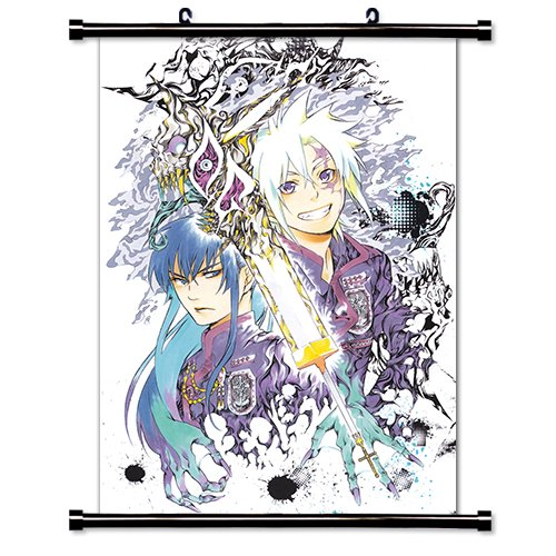 (D Gray Man Anime Fabric Wall Scroll Poster (32x44) Inches. [WP]-D Gray Man- 300(L))