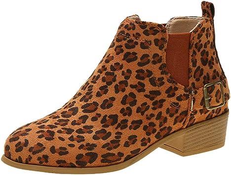 Damen Schuhe Dockers Stiefeletten Stiefel Ankle Boots braun Schnallen