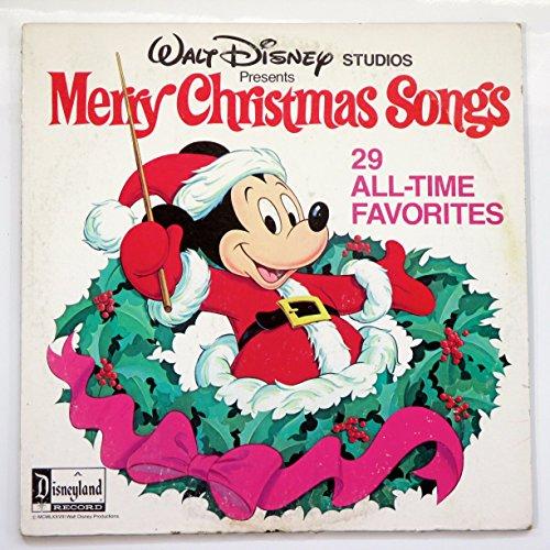 Walt Disney Studios Presents Merry Christmas Songs Merry Christmas Songs Disney